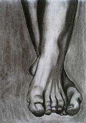 les pieds en craie