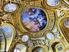 Les plafonds du Louvre