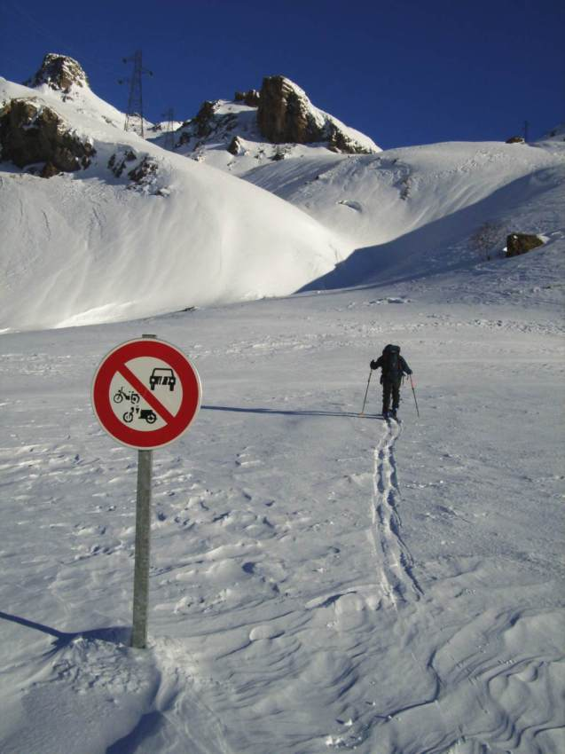 Les plaisirs du ski de rando...
