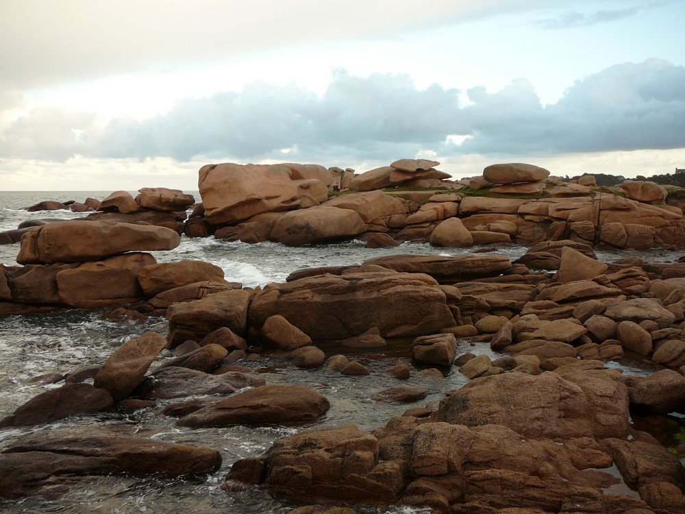 les rochers de tregastel