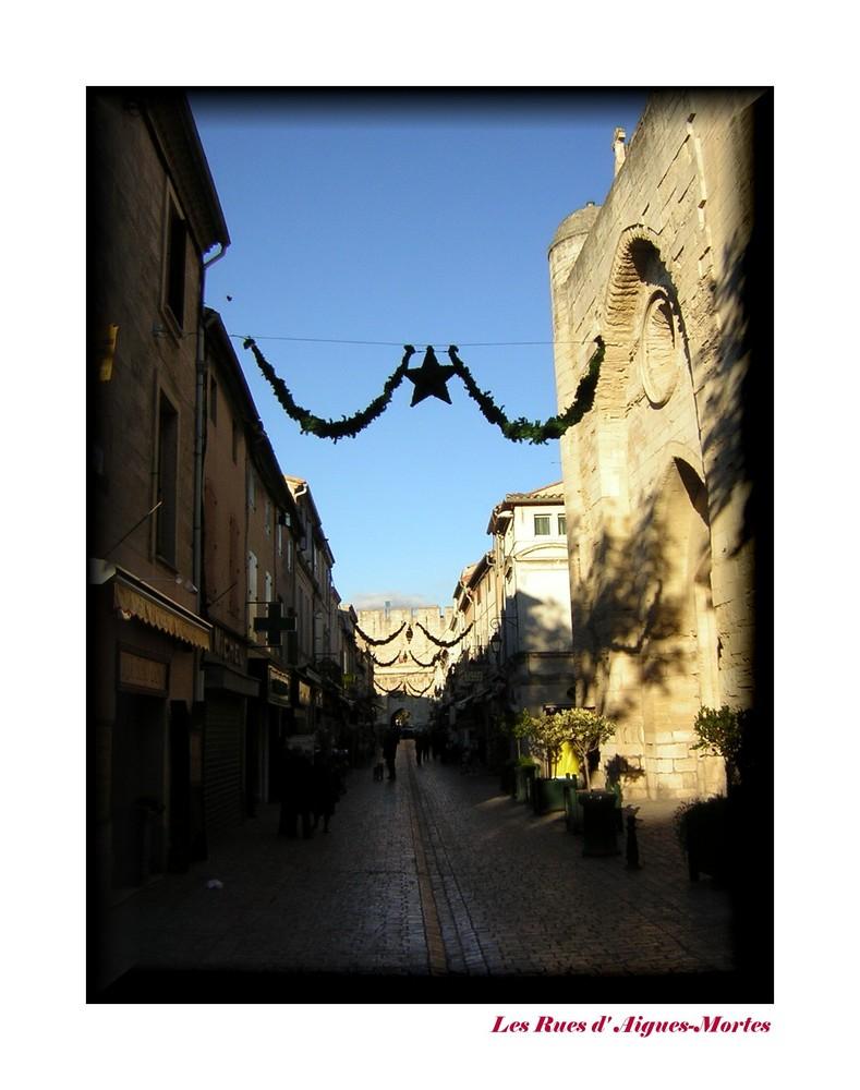 Les rues d' Aigues-Mortes