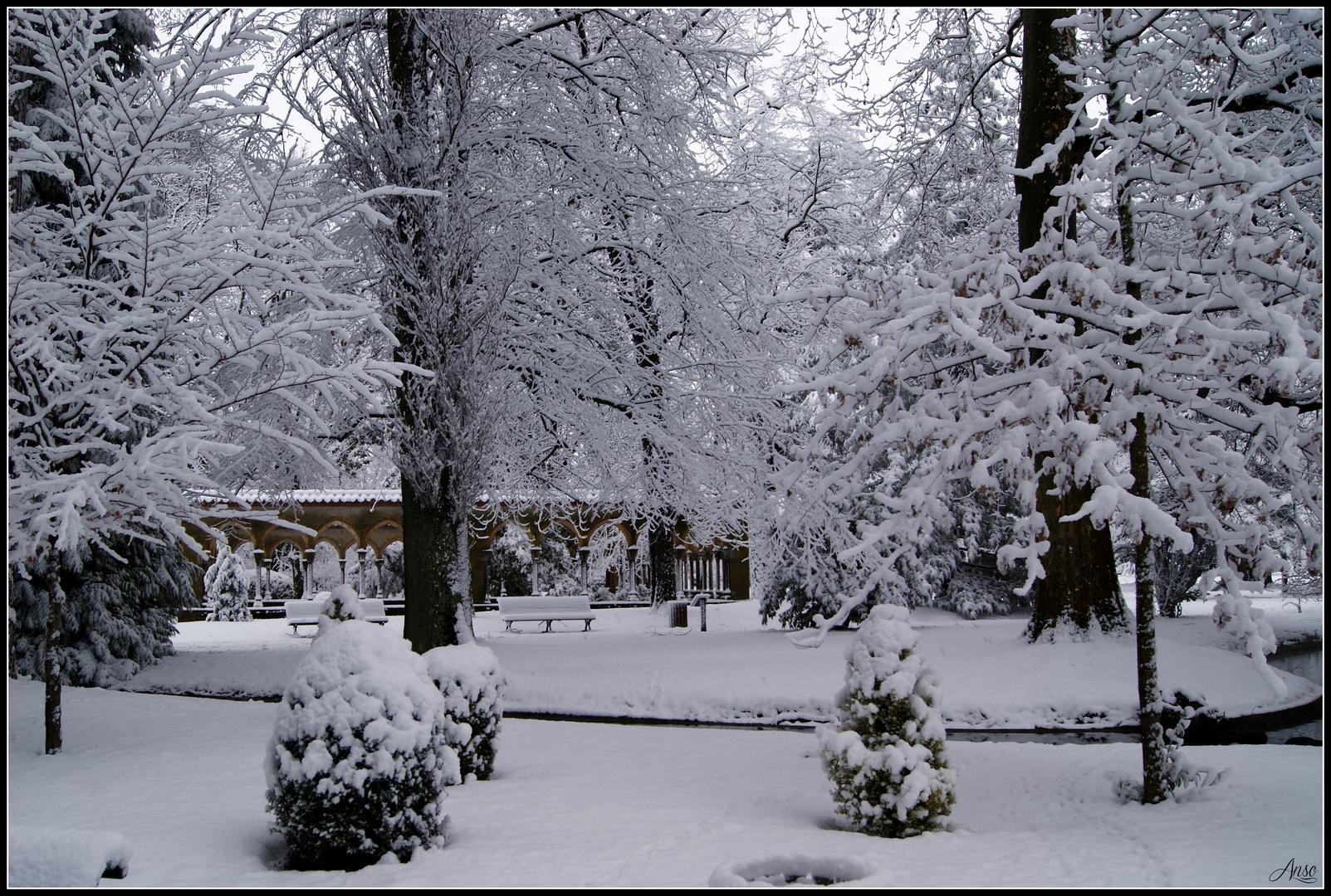 les ruines du Jardin Massey