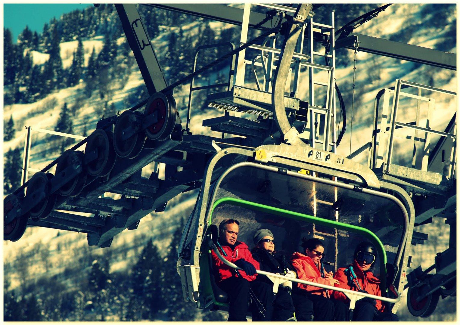 Les skieurs !!!