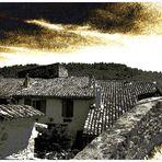Les toits d'Ansouis