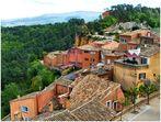 Les toits de Roussillon