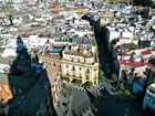les toits de Séville du haut de la Giralda