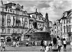 Les touristes de Prague