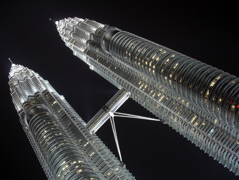 Les tours Pétronas à Kuala Lumpur , Malaisie.