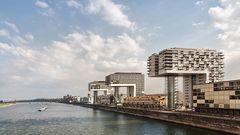 Les trois immeubles en forme de grue de Cologne
