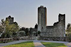 """les trois tours de la citadelle  """" neuve"""" (14e )"""