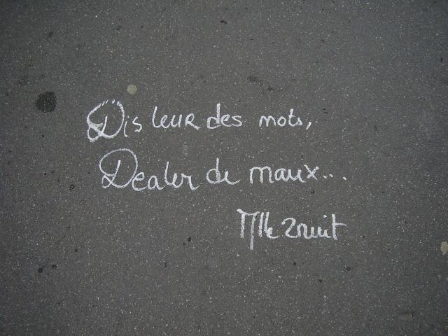 Les trottoirs de Paris