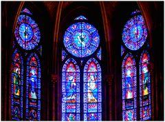 Les vitraux de Notre Dame