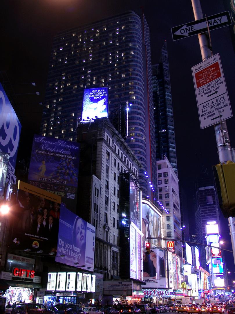 Lesen am Times Square?