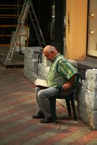 Lesender in Odessa