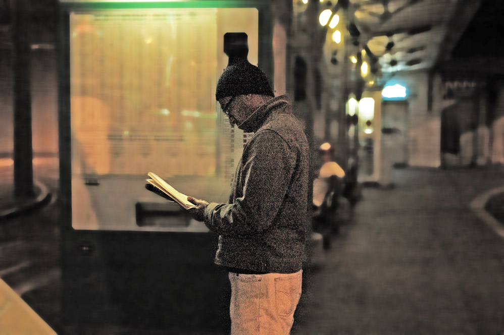 Lesen,wenn man warten muss