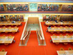 Lesesaal der Staatsbibliothek