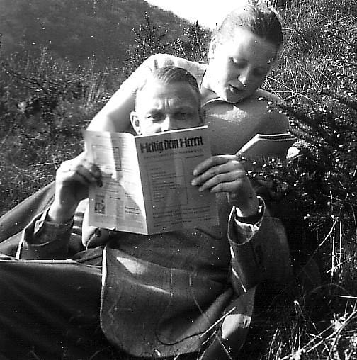 Lesestunde 1954