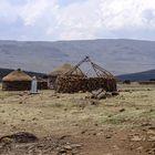Lesotho Dorf Skeering