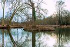 -L'étang du château de Chamarande- 2