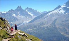 L'été à Chamonix