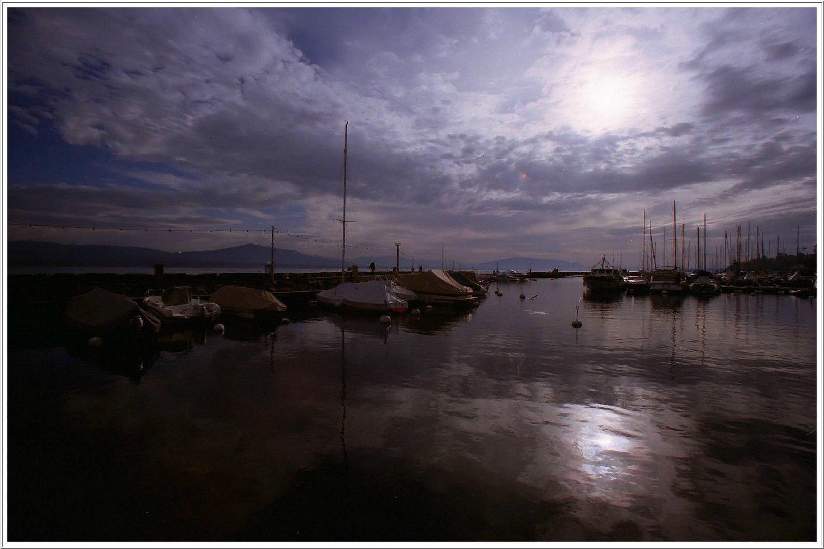 L'étendue du Lac Léman