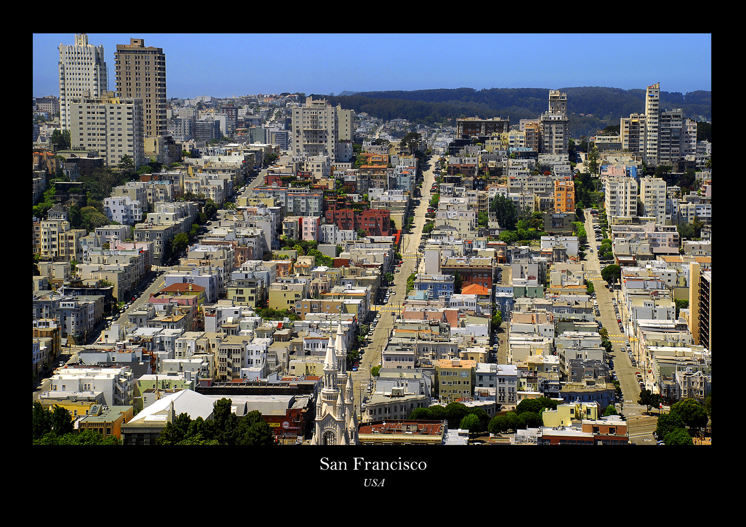 Let's go to....San Francisco
