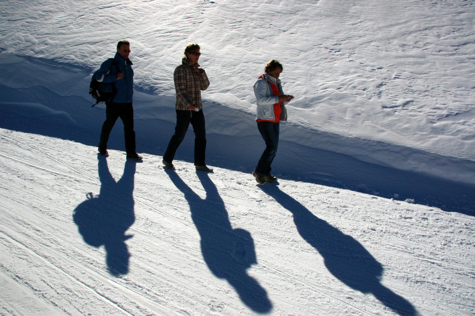 Letste mal im schnee