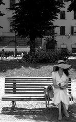 letture al giardino pubblico