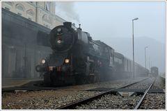 Letzte Ankunft für 33-037 in Nova Gorica...