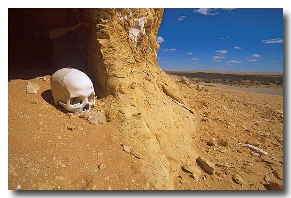Letzte Aussicht in die Wüste