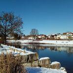 Letzte Wintertage am See ? Spiegeltag 16.2.2021