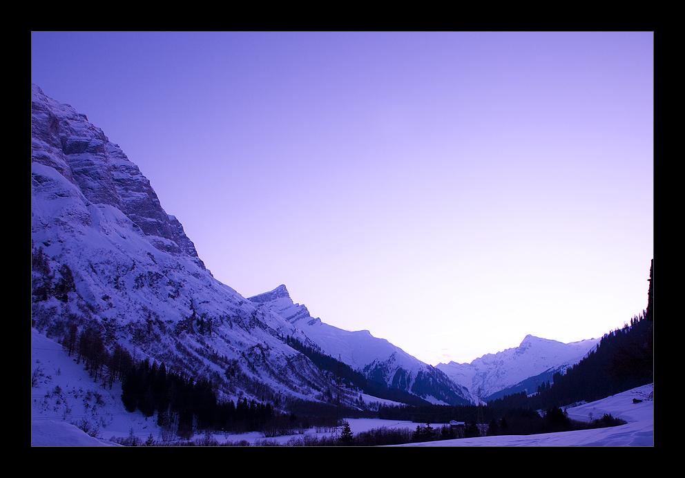 Letzte Wintertage in den Bergen