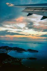 Letzter Blick auf Sint Maarten