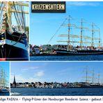 Letzter noch fahrender Flying-P-Liner - Russisches Segelschulschiff