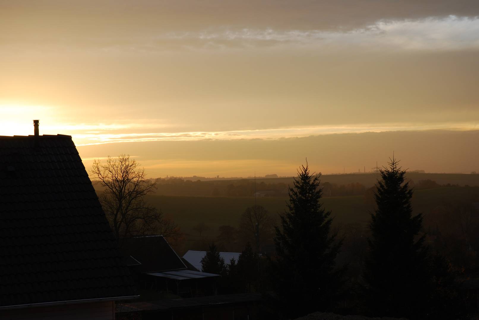 letzter Sonnenuntergang...