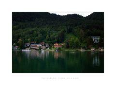 Letztes Licht am Tegernsee