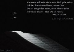 Letztes Lied