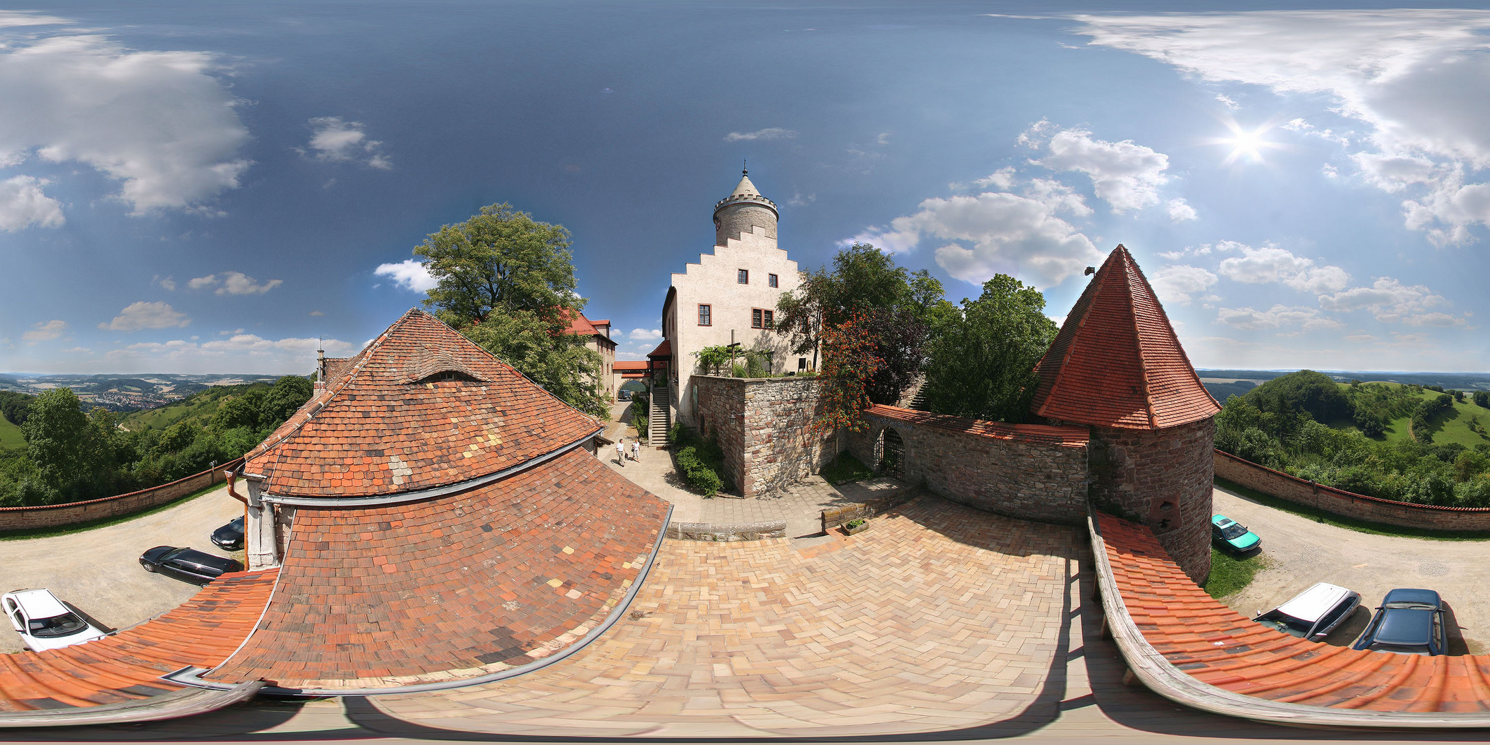 Leuchtenburg, Seitenroda, Thüringen