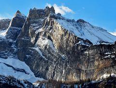 Leuchtende Gipfel in den Schweizer Alpen! - Der Äussere Fisistock, 2946 m ü.M.