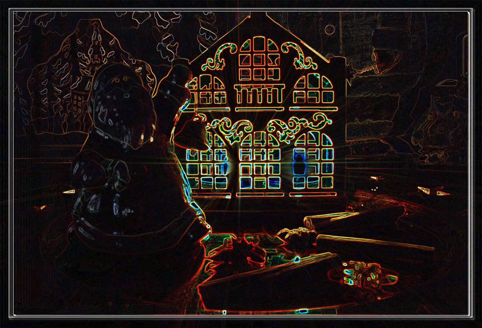Leuchtende Lichter zum 1. Weihnachtstag Bild 2