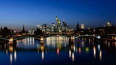 leuchtende Stadt
