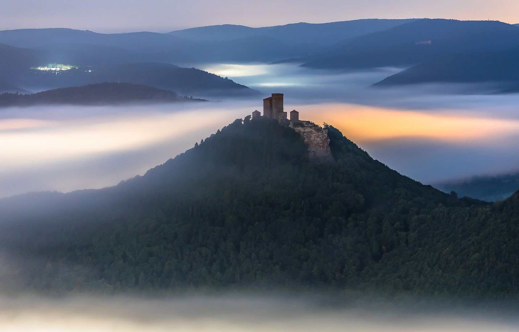 Leuchtender Nebel