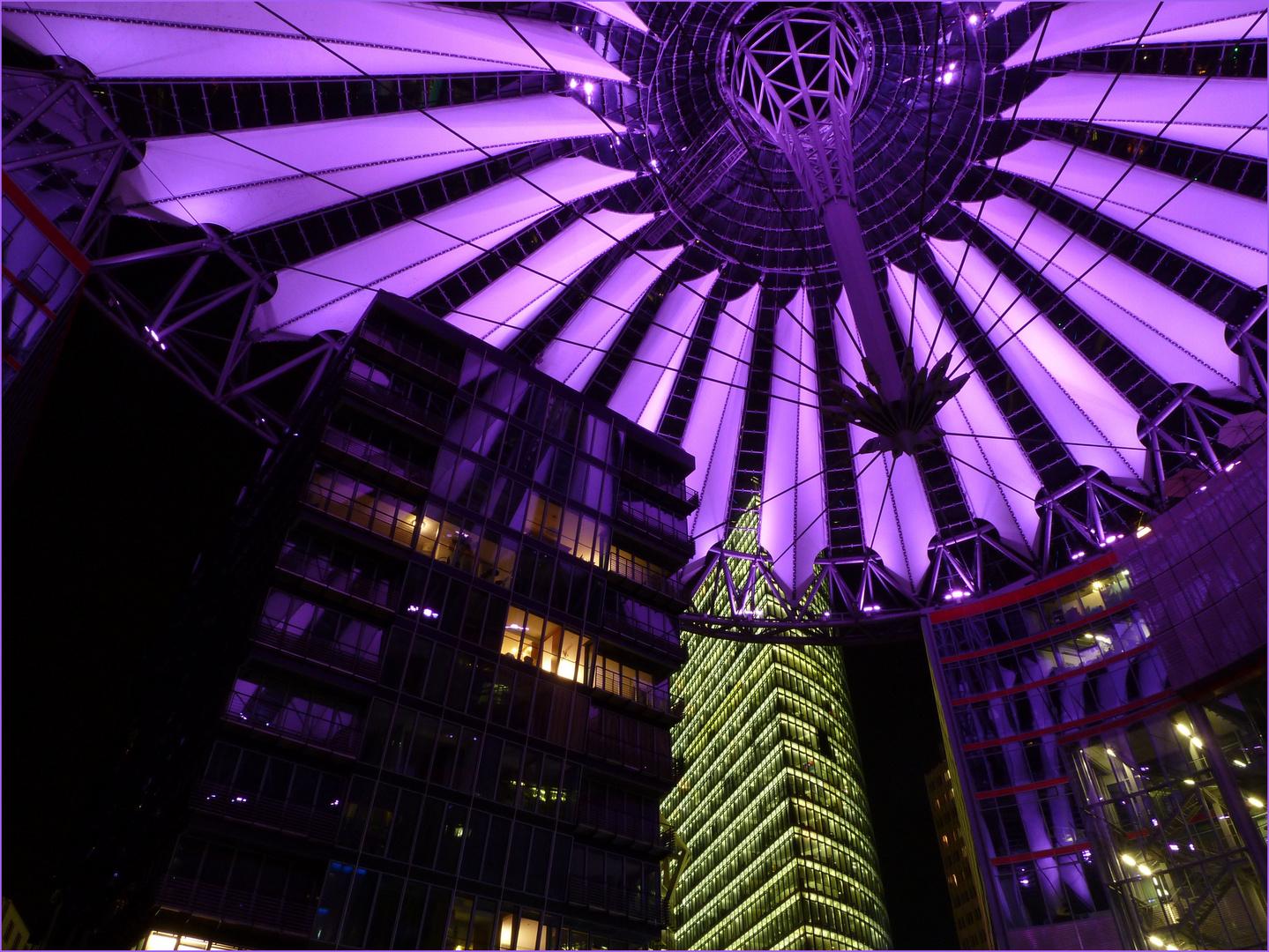 Leuchtendes Dach