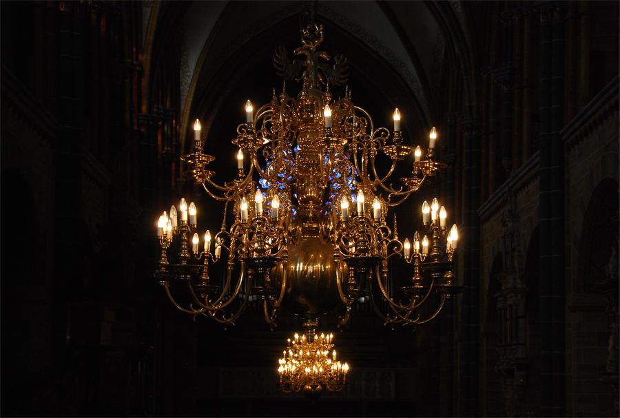 Leuchter im Bremer St. Petri-Dom