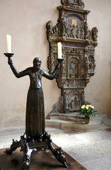 Leuchter im Erfurter Dom