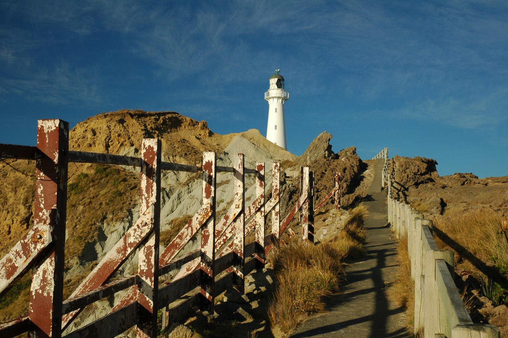 Leuchtturm am Castlepoint