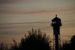 Leuchtturm am Elbstrand
