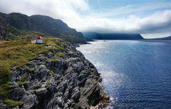 Leuchtturm am Fjord