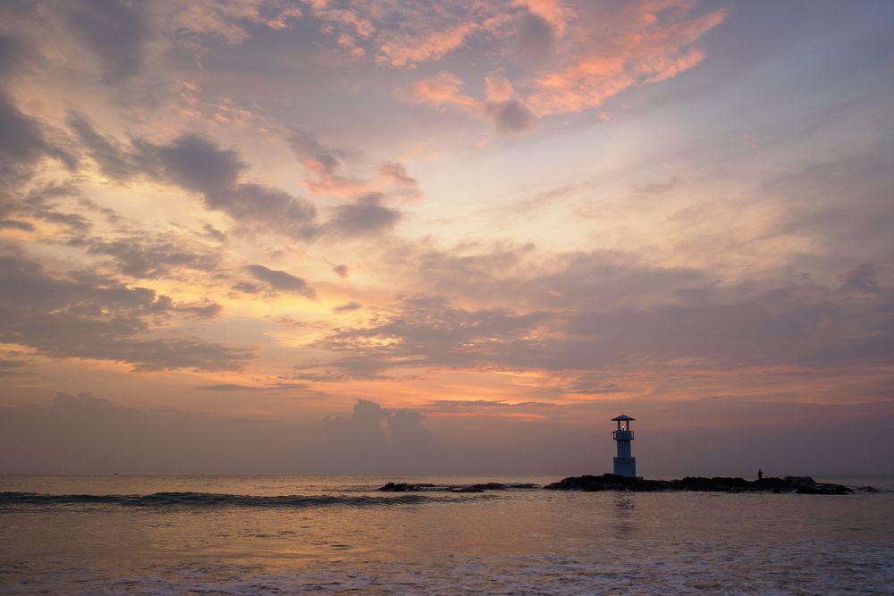 Leuchtturm am Nang Thong Beach