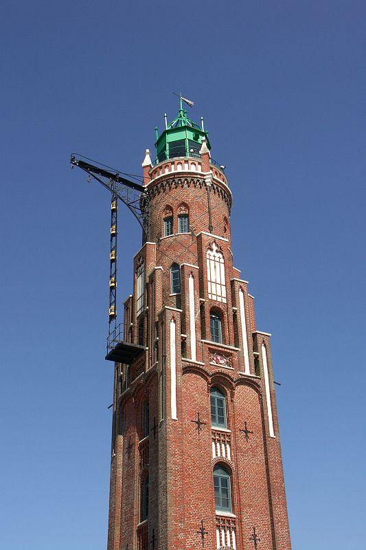 Leuchtturm am neuen Hafen